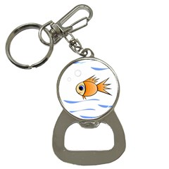 Cute Fish Bottle Opener Key Chains by Valentinaart
