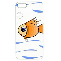 Cute Fish Apple Iphone 5 Hardshell Case With Stand by Valentinaart