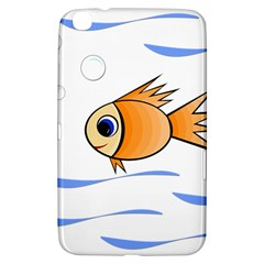 Cute Fish Samsung Galaxy Tab 3 (8 ) T3100 Hardshell Case  by Valentinaart
