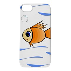 Cute Fish Apple Iphone 5s/ Se Hardshell Case by Valentinaart