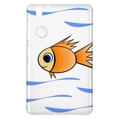 Cute Fish Samsung Galaxy Tab Pro 8 4 Hardshell Case by Valentinaart