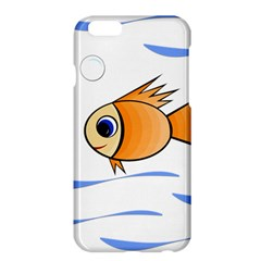 Cute Fish Apple Iphone 6 Plus/6s Plus Hardshell Case by Valentinaart