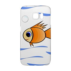 Cute Fish Galaxy S6 Edge by Valentinaart