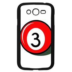 Billiard Ball Number 3 Samsung Galaxy Grand Duos I9082 Case (black) by Valentinaart