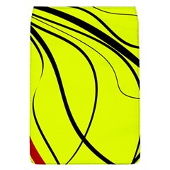 Yellow Decorative Design Flap Covers (l)  by Valentinaart
