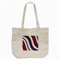 Decorative Lines Tote Bag (cream) by Valentinaart