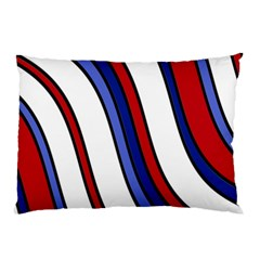 Decorative Lines Pillow Case by Valentinaart
