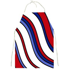 Decorative Lines Full Print Aprons by Valentinaart
