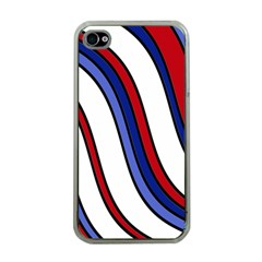 Decorative Lines Apple Iphone 4 Case (clear) by Valentinaart