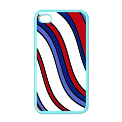 Decorative Lines Apple Iphone 4 Case (color) by Valentinaart