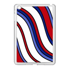 Decorative Lines Apple Ipad Mini Case (white) by Valentinaart