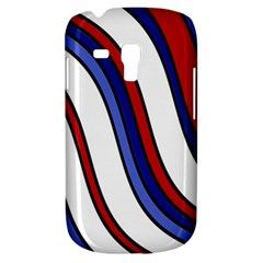 Decorative Lines Samsung Galaxy S3 Mini I8190 Hardshell Case by Valentinaart