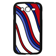 Decorative Lines Samsung Galaxy Grand Duos I9082 Case (black) by Valentinaart