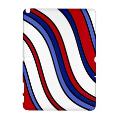 Decorative Lines Samsung Galaxy Note 10 1 (p600) Hardshell Case by Valentinaart