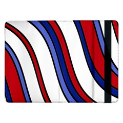 Decorative Lines Samsung Galaxy Tab Pro 12 2  Flip Case by Valentinaart