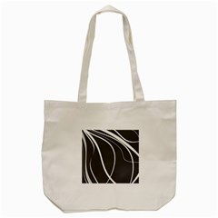 Black And White Elegant Design Tote Bag (cream) by Valentinaart