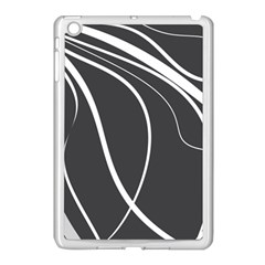 Black And White Elegant Design Apple Ipad Mini Case (white) by Valentinaart