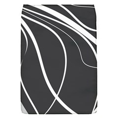 Black And White Elegant Design Flap Covers (s)  by Valentinaart
