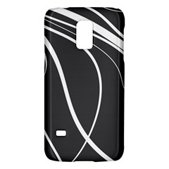Black And White Elegant Design Galaxy S5 Mini by Valentinaart
