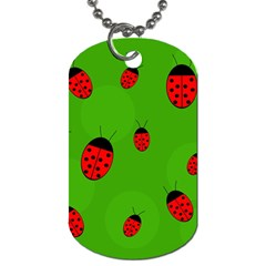Ladybugs Dog Tag (one Side) by Valentinaart