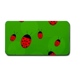 Ladybugs Medium Bar Mats by Valentinaart