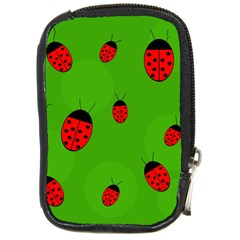 Ladybugs Compact Camera Cases by Valentinaart