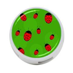 Ladybugs 4 Port Usb Hub (one Side) by Valentinaart