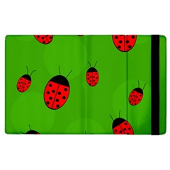Ladybugs Apple Ipad 3/4 Flip Case by Valentinaart