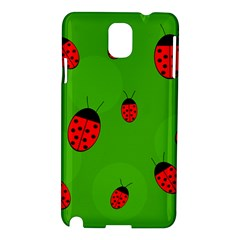 Ladybugs Samsung Galaxy Note 3 N9005 Hardshell Case by Valentinaart