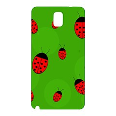 Ladybugs Samsung Galaxy Note 3 N9005 Hardshell Back Case by Valentinaart