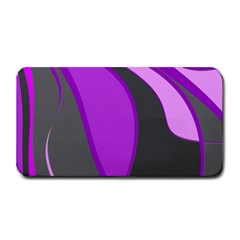 Purple Elegant Lines Medium Bar Mats by Valentinaart