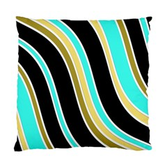 Elegant Lines Standard Cushion Case (one Side) by Valentinaart