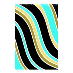 Elegant Lines Shower Curtain 48  X 72  (small)  by Valentinaart
