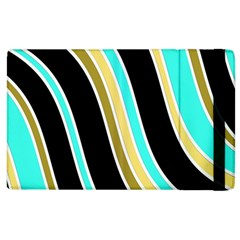 Elegant Lines Apple Ipad 3/4 Flip Case by Valentinaart