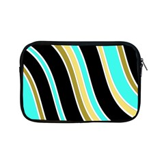 Elegant Lines Apple Ipad Mini Zipper Cases by Valentinaart
