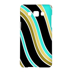 Elegant Lines Samsung Galaxy A5 Hardshell Case  by Valentinaart