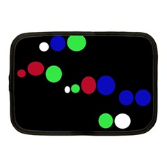 Colorful Dots Netbook Case (medium)  by Valentinaart