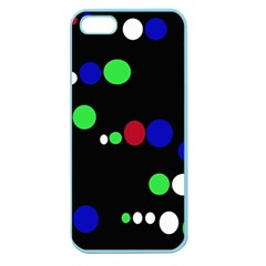 Colorful Dots Apple Seamless Iphone 5 Case (color) by Valentinaart