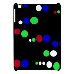 Colorful Dots Apple Ipad Mini Hardshell Case by Valentinaart
