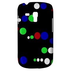 Colorful Dots Samsung Galaxy S3 Mini I8190 Hardshell Case by Valentinaart