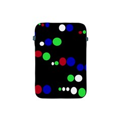 Colorful Dots Apple Ipad Mini Protective Soft Cases by Valentinaart