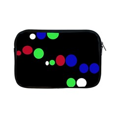 Colorful Dots Apple Ipad Mini Zipper Cases by Valentinaart
