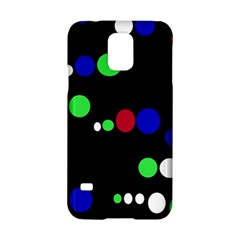 Colorful Dots Samsung Galaxy S5 Hardshell Case  by Valentinaart