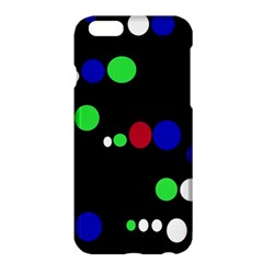Colorful Dots Apple Iphone 6 Plus/6s Plus Hardshell Case by Valentinaart