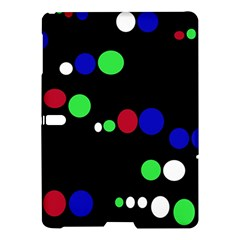 Colorful Dots Samsung Galaxy Tab S (10 5 ) Hardshell Case  by Valentinaart
