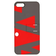 Decorative Abstraction Apple Iphone 5 Hardshell Case With Stand by Valentinaart