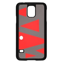 Decorative Abstraction Samsung Galaxy S5 Case (black) by Valentinaart