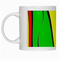 Colors Of Jamaica White Mugs by Valentinaart