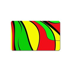 Colors Of Jamaica Magnet (name Card) by Valentinaart