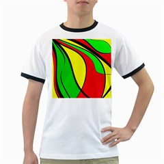 Colors Of Jamaica Ringer T Shirts by Valentinaart